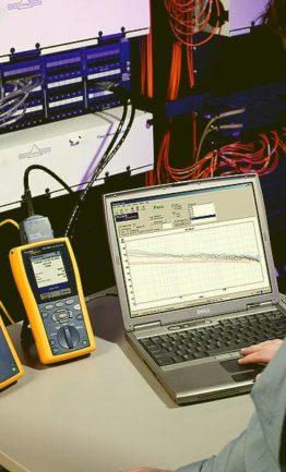 Тестирование  структурированных кабельных сетей