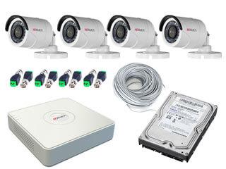 Система наружного видеонаблюдения